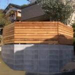 ウエスタンレッドシダー『新旧』フェンス施工写真【ウエスタンレッドシダー施工例 s20191023】