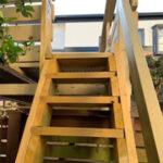 「階段」を作り直しました。【ウエスタンレッドシダー施工例 s20191216】