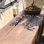 盆栽棚(エアコン室外機カバー)【ウエスタンレッドシダー施工例 s20200421-1】