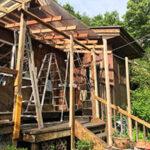 念願のウッドデッキの屋根【ウエスタンレッドシダー施工例 s20200603-1】
