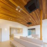 新規開院クリニックの内装の施工例【ウエスタンレッドシダー施工例 s20201210-1】