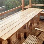 ウエスタンレッドシダー製テーブル【ウエスタンレッドシダー施工例 s20200106】