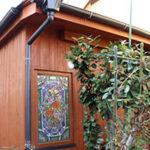ウエスタンレッドシダーをフンダンに使用した外装の施工写真【ウエスタンレッドシダー施工例 s20190329-1