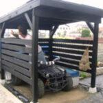 バギー小屋完成です!【ウエスタンレッドシダー施工例 s20120929-3】